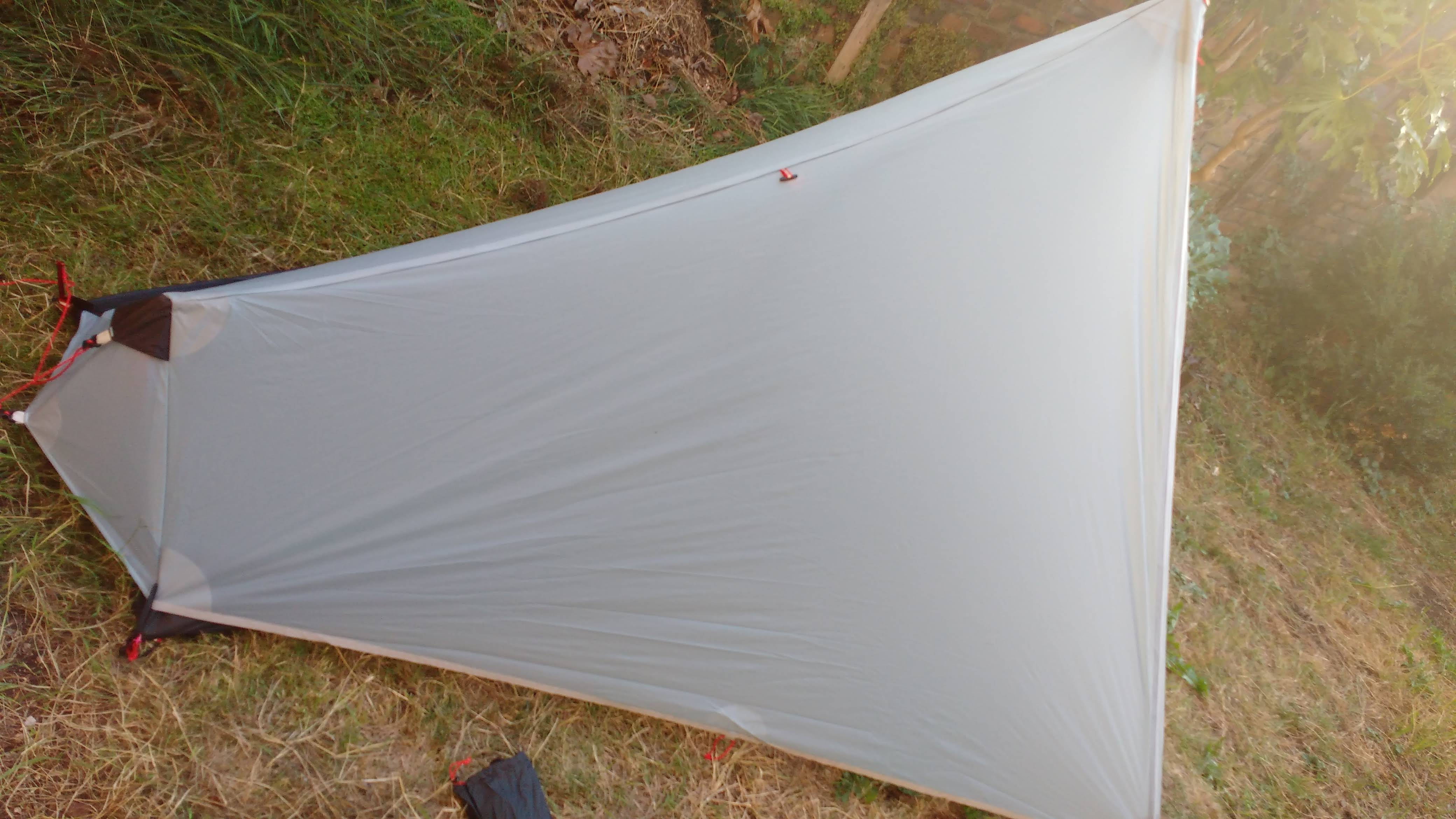 3F UL Gear Solo Tent Pitched