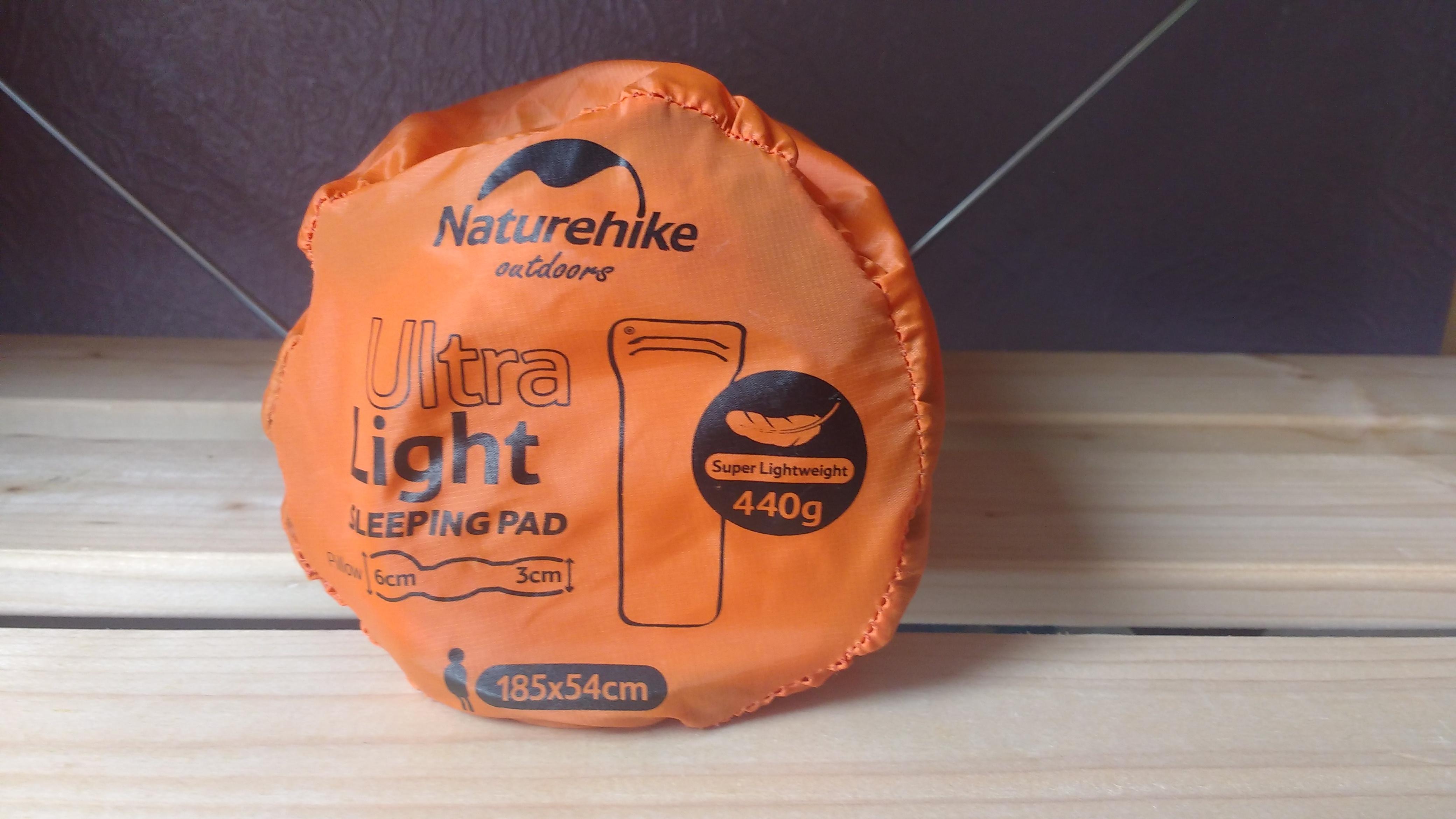 Ultralight Outdoor Gear List #2: For a sleeping mat, we've gone for the Naturehike Inflatable Mat
