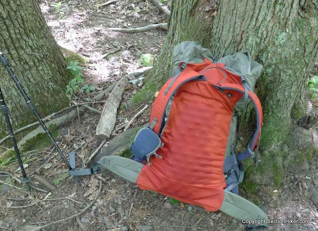 Camping hacks #9: Use your camping mat as a backpack frame!