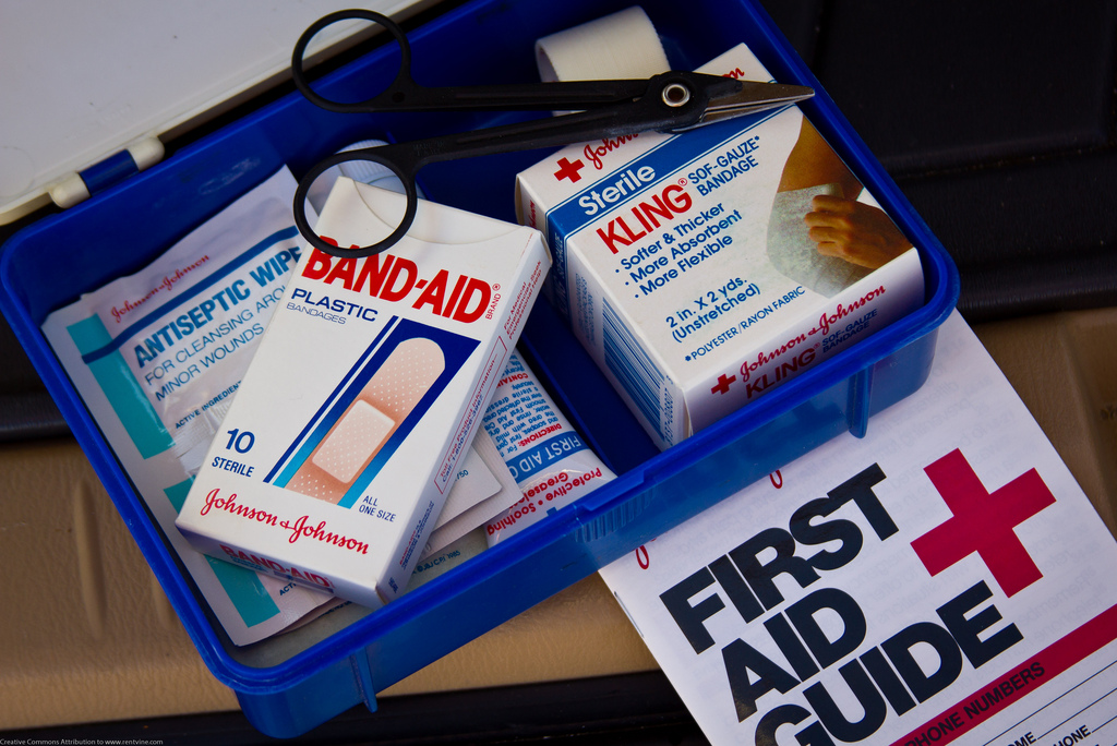 A first aid kit should be on everyone' list of camping essentials.