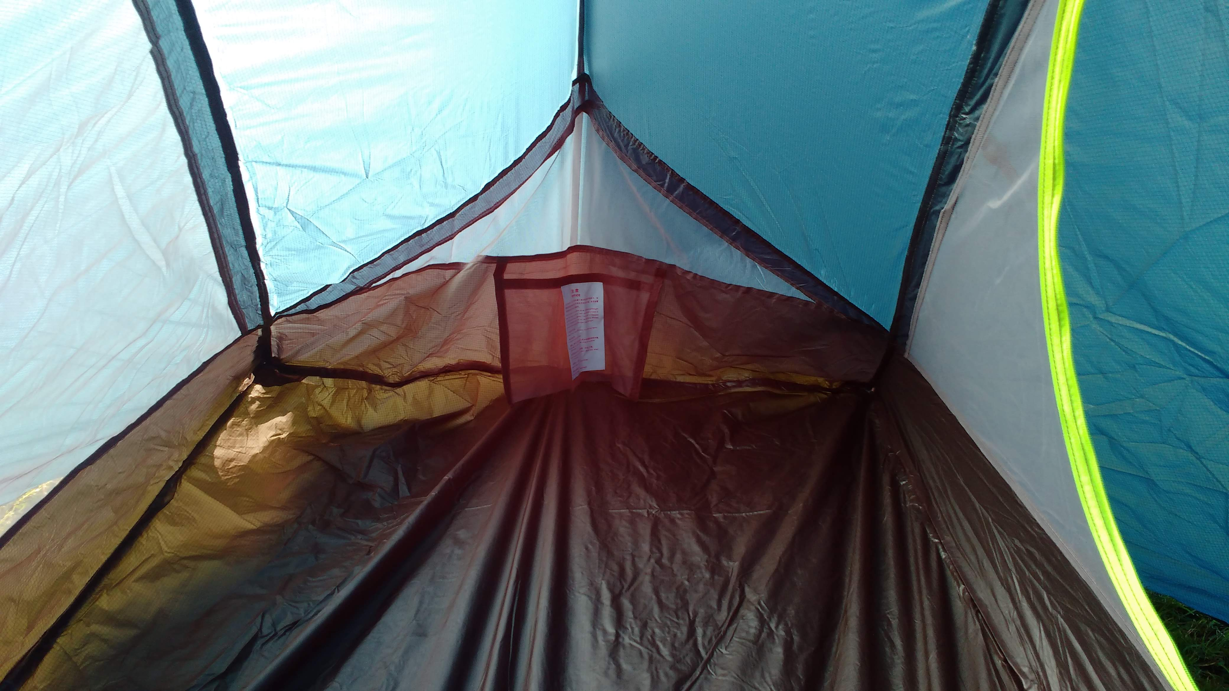 The Naturehike Taga lightweight tent
