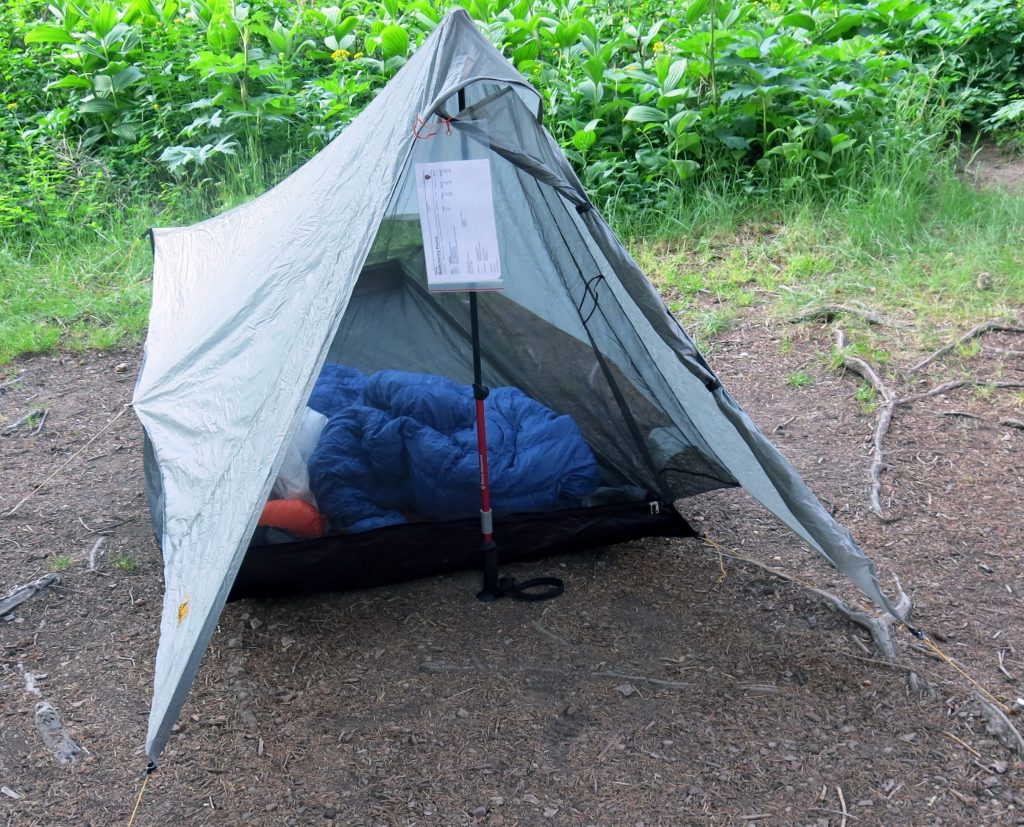 A good sleep system is an essential part of any camping checklist!