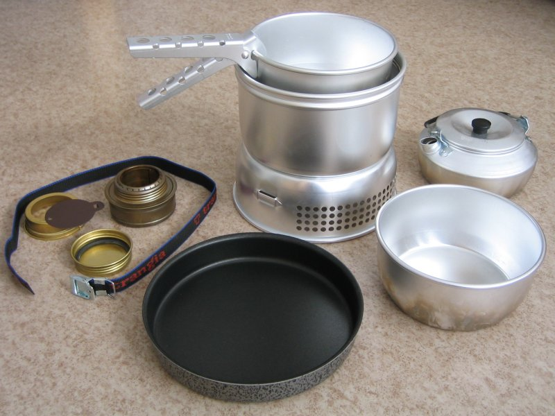 The Trangia stove is a great cooking set for those who don't know where to start in this area