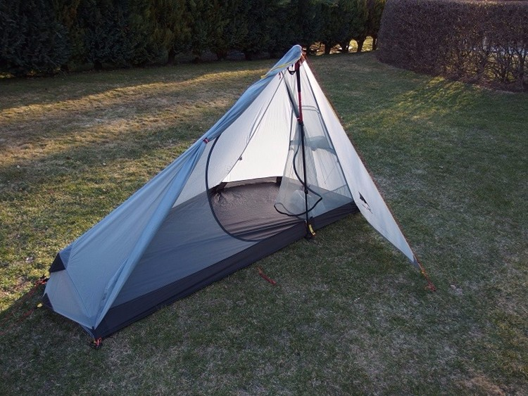 Ultralight Outdoor Gear List #1: For a tent, we've gone for the 3F UL Gear Solo