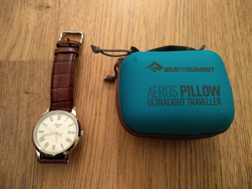 Sea to Summit Aeros Travel Pillow, Packed