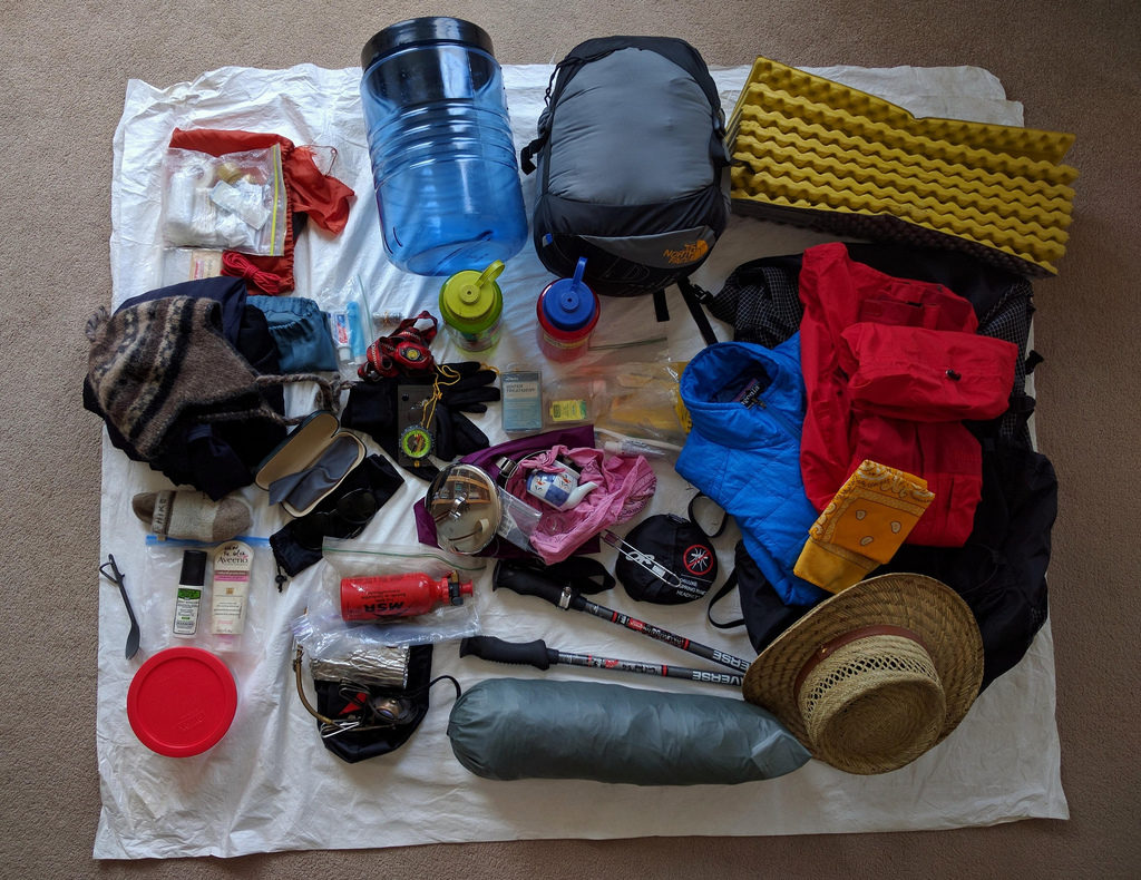 Getting to an ultralight backpacking base weight