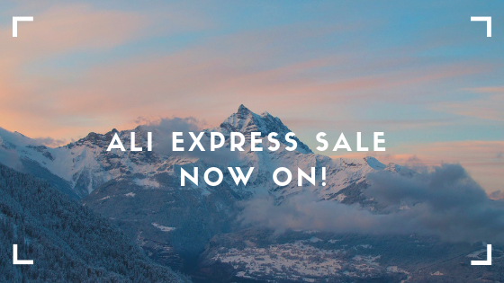 Ali Express Sale Now On