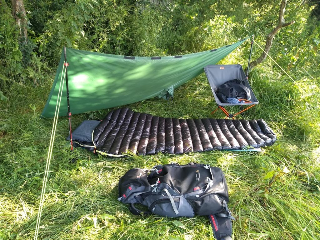 terra hiker tarp review