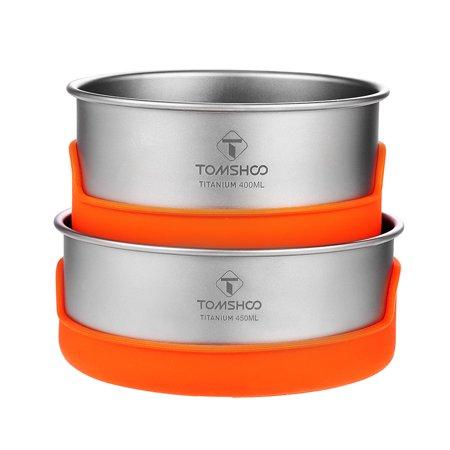 tomshoo titanium bowl set