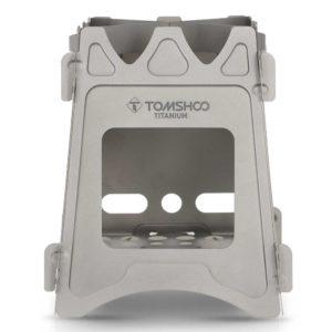 tomshoo titanium wood burner