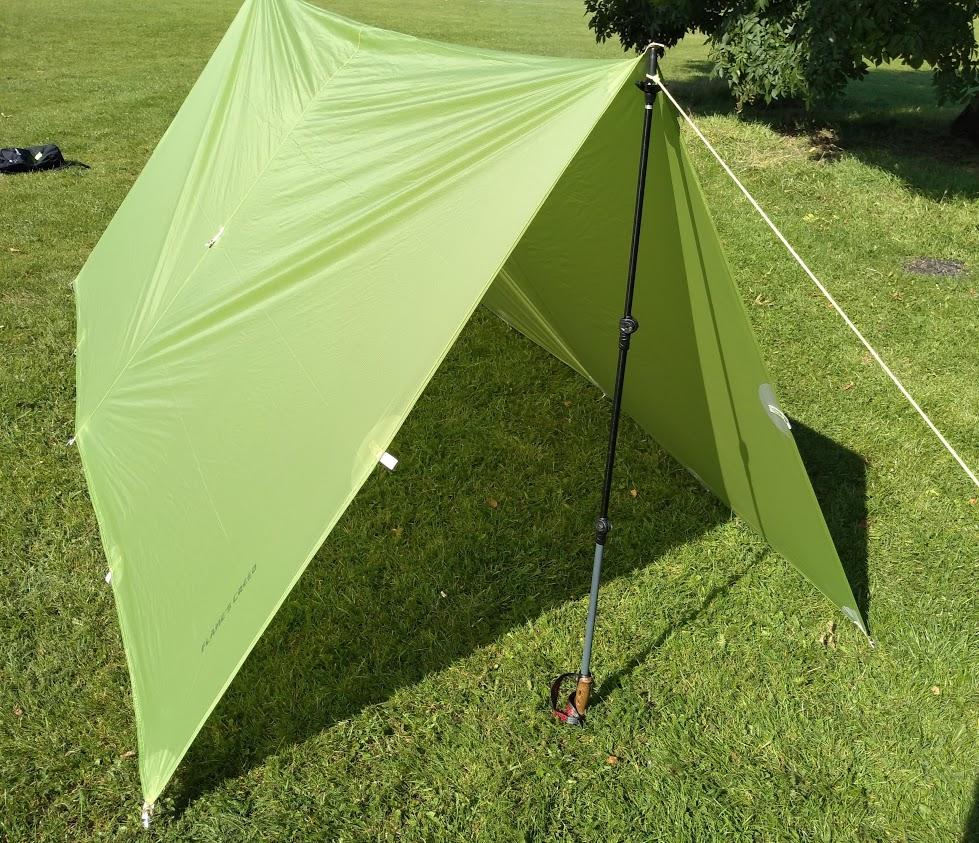 Tarp shelter configurations
