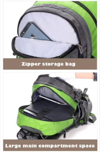 Local Lion 40l backpack storage compartments